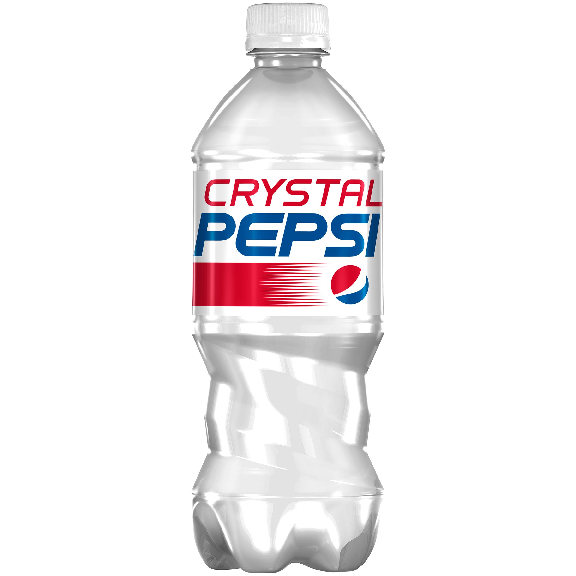 Pepsi? Crystal Soda 20 fl. oz. Plastic Bottle