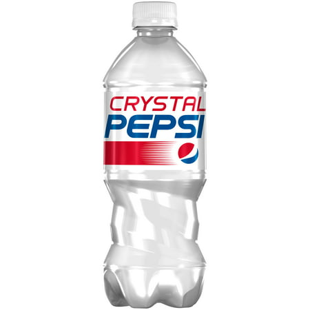 Pepsi ® Crystal Soda 20 fl. oz. Plastic Bottle