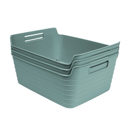 Mainstays Large Flex Bin Mint