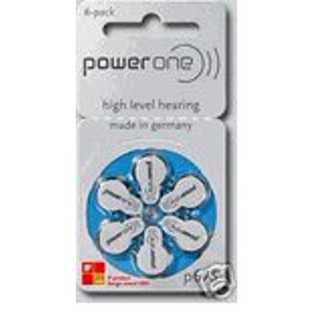 10 Packs (60 Batteries) German Power One Size 675 Hearing Aid Batteries! 60 Batteries (Power Plus Battery Pack)