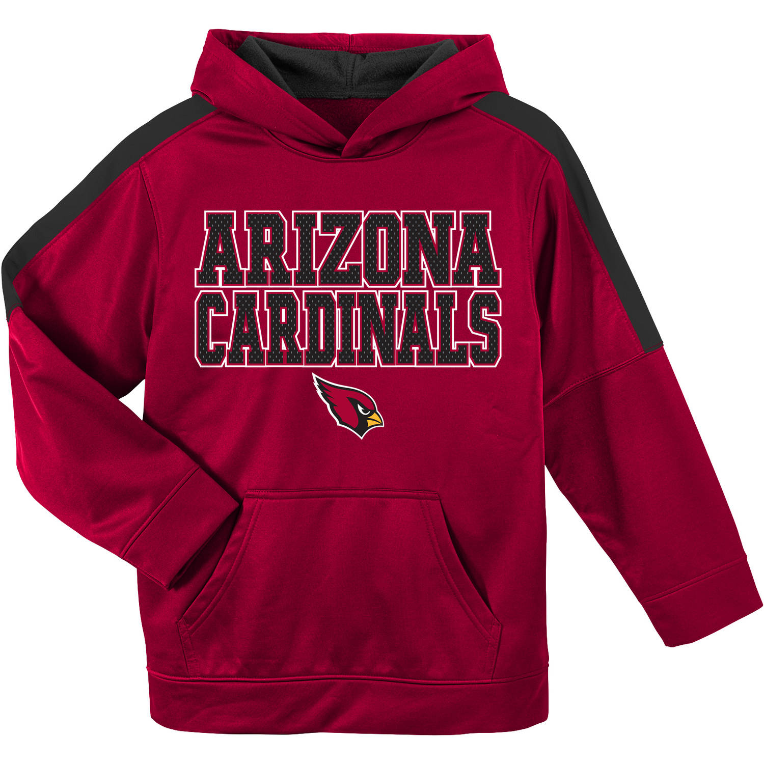 NFL Arizona Cardinals Youth Hooded Fleece Top by
