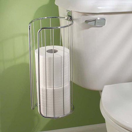 interdesign classico over the tank toilet paper 3 roll holder. Black Bedroom Furniture Sets. Home Design Ideas