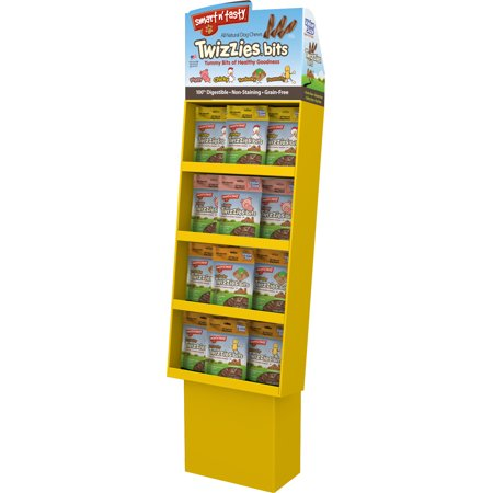 smart n tasty twizzies bits shipper display (Shipper Display)