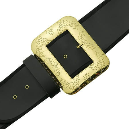 Santa Belt Adult with Decorative Buckle