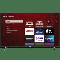 "TCL 75"" Class 4-Series 4K UHD HDR Roku Smart TV  75S435"