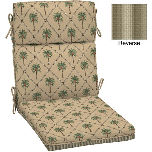 Better Homes And Gardens Dining Chair Outdoor Cushion Palm Trees