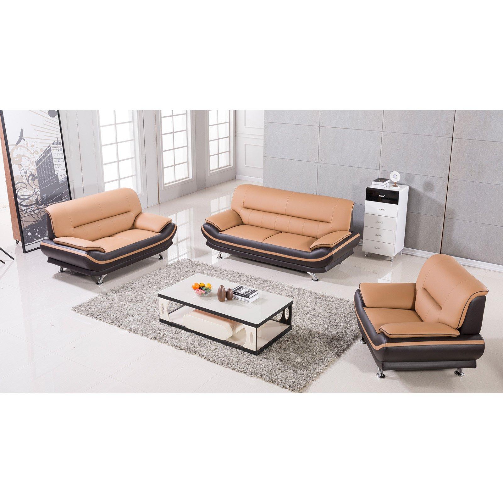 American Eagle Furniture Mason 3 Piece Sofa Set