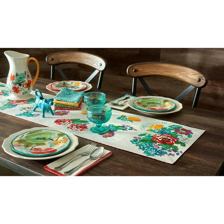 The Pioneer Woman Country Garden Reversible Table Runner, 14