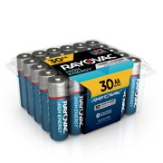 Rayovac High Energy Alkaline, AA Batteries, 30 Count