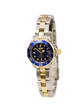 Invicta Women's Pro Diver GQ 8942 Blue Stainless-Steel Quartz Diving Watch