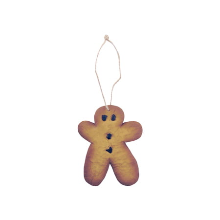 Gingerbread Orn Resin 4 1/4""