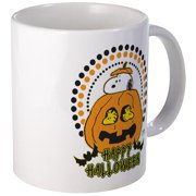 CafePress Snoopy And Woodstock Pumpkin Mugs Unique Coffee Mug, Coffee Cup CafePress by