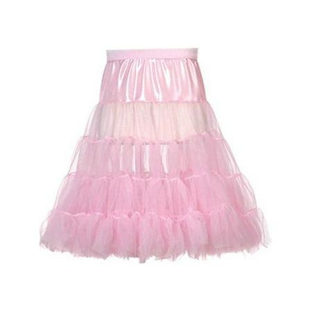 Little Girls Pink Fluffy Stylish Extra Volume Petticoat Underskirt](Girls Petticoat)