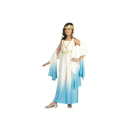 Greek Sky Goddess Girls Costume - Greek Costume For Girl