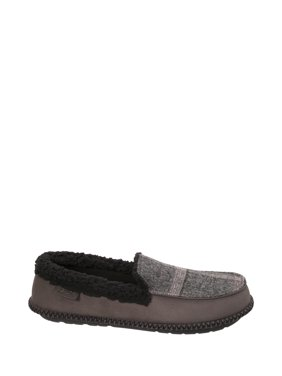 a1a4f375f755 Product Image DF by Dearfoams Men s Plaid Moccasin Slipper. Product  Variants Selector. Brown