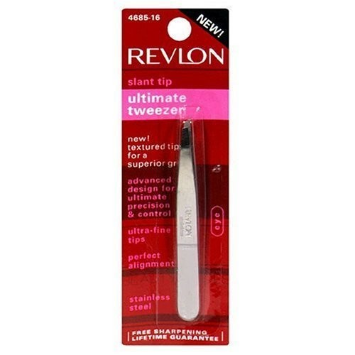 Revlon 68516 Slant Tip Ultimate Tweezer, 1.0 CT