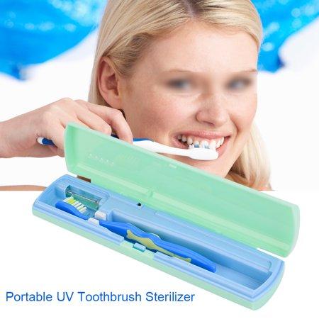 Garosa Portable Toothbrush Sterilizer, UV Toothbrush Cleaner,USB / Battery Charging Antibacteria UV Light Portable Toothbrush Sterilizer Cleaner - image 2 de 7