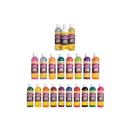 Green Watercolour - Colorations Liquid Watercolor Paint, Green - 8 oz. (Item # LWGR)