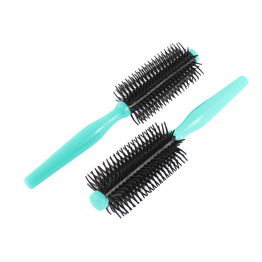 Unique Bargains Flexible Hair Styling Hair Curling Roller Comb Brush 2 Pcs - image 1 of 1