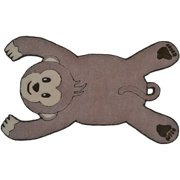 The Rug Market Monkey Area Rug, 2.8' x 4.8'