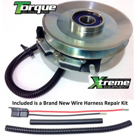 Bundle - 2 items: PTO Electric Blade Clutch, Wire Harness Repair Kit on fisher wire harness, kawasaki wire harness, caterpillar wire harness, kohler wire harness, universal wire harness, club car wire harness, bush hog wire harness, cub cadet wire harness, john deere wire harness, nissan wire harness, suzuki wire harness, yamaha wire harness, hiniker wire harness, murray wire harness, toro wire harness, dixie chopper wire harness, ferris wire harness, fmc wire harness, honda wire harness, ford wire harness,
