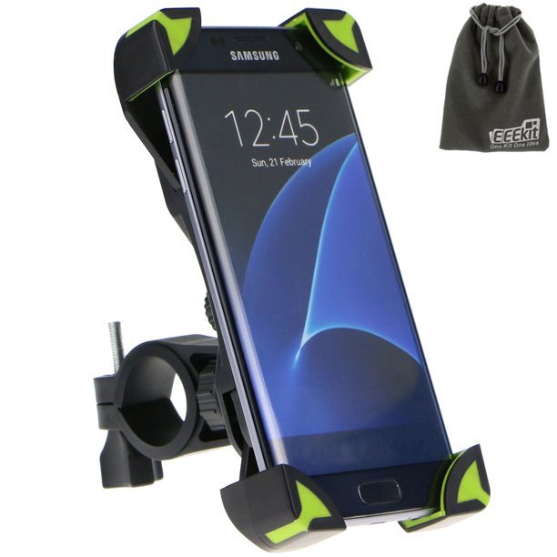 EEEKit Universal Adjustable Bike Bicycle Motorcycle Handlebar Mount Holder for Cell Phone, PDA and GPS Device