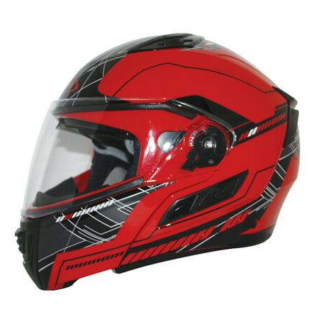 - Zox Condor SVS Fluent Modular Helmet Red