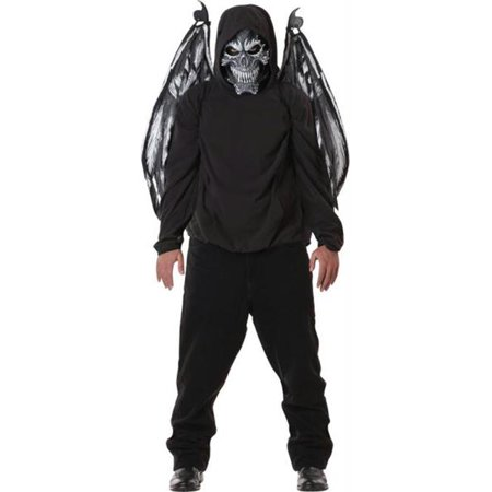 MorrisCostumes CC60548 Fallen Angel Mask and Wings](Angel Mask)
