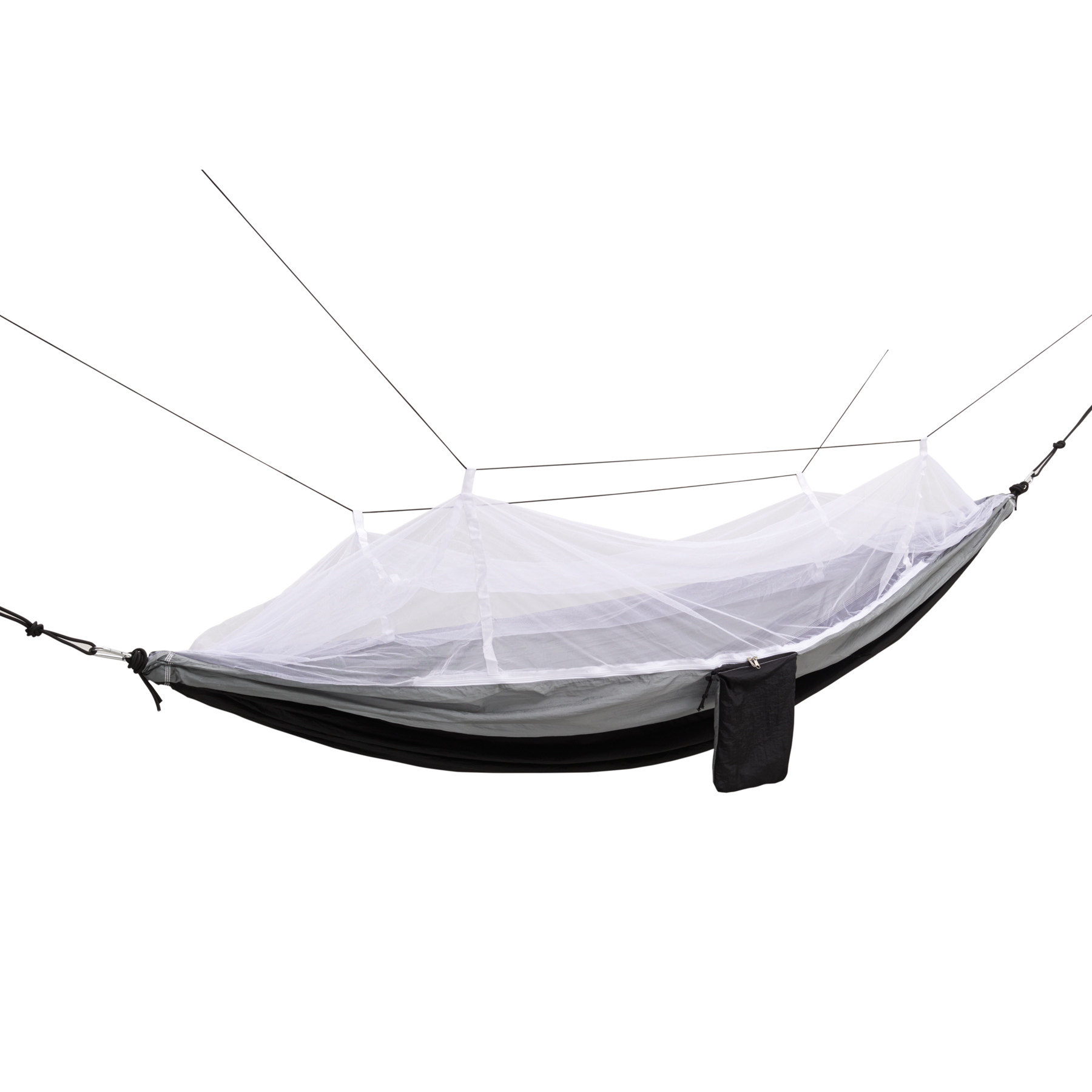 NW Survival 2 Person Parachute Outdoor Travel Hammock with Adjustable Mosquito Net by Equipped Outdoors