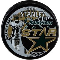 Dallas Stars Unsigned 1999 Stanley Cup Champions Logo Hockey Puck