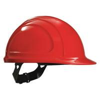 HONEYWELL NORTH Hard Hat,4 pt. Pinlock,Red N10150000