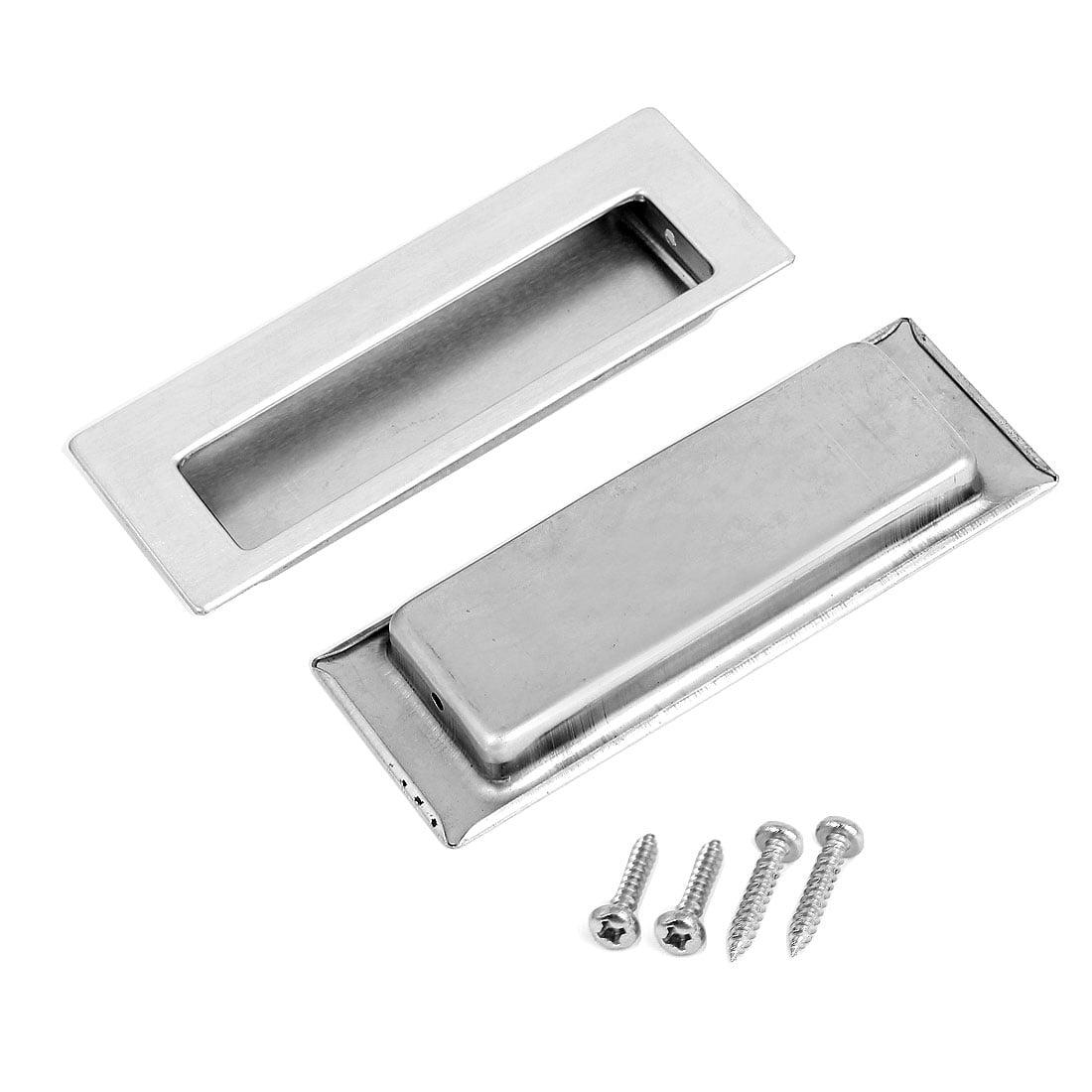 tiroir Porte 115 x 41 mm encastré Flush Poignée de traction Hardware 2 pcs - image 1 de 1