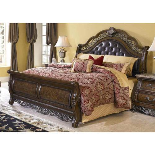 Birkhaven Sleigh Bed (California King)