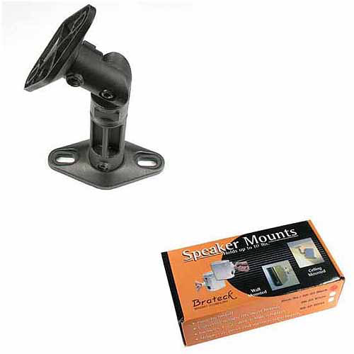 Arrowmounts Plastic Speaker Mount SB-20, 2 Pieces, Black
