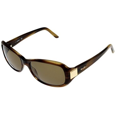 Max Mara Sunglasses Womens MM 904/S 2CM X7 Brown Tortoise Rectangular Size: Lens/ Bridge/ Temple: (Max Mara Women)