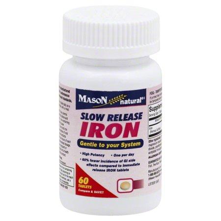 Mason Vitamins Mason Natural Natural Iron, 60 ea
