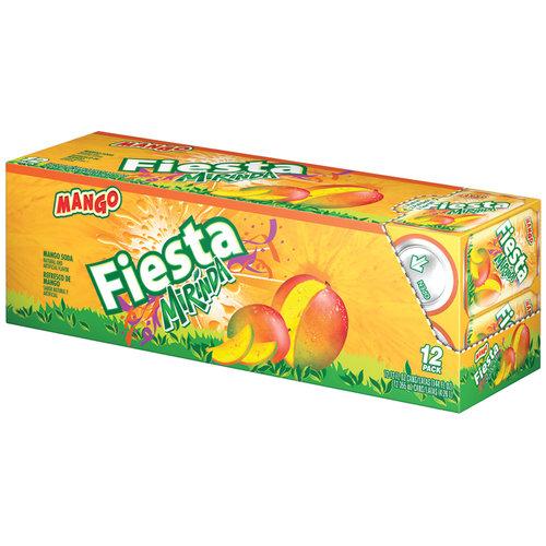 Pepsi Fiesta Mirinda Mango 12oz 12pk Can Fm