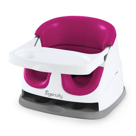 Ingenuity Baby Base 2-in-1 Booster Seat, Pink