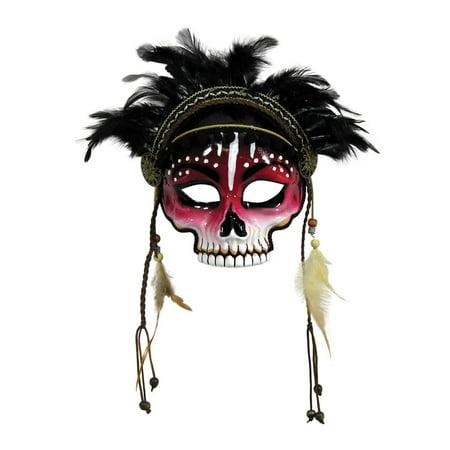 Voodoo Mask Halloween Costume Accessory (Voodoo Mask)