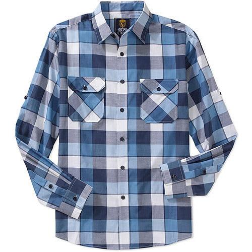 Men's Long Sleeve Yarn Dyed Woven Shirt