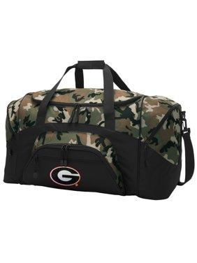 92ac281fd0f9 Product Image Georgia Bulldogs CAMO Duffel Bag University of Georgia GYM BAG