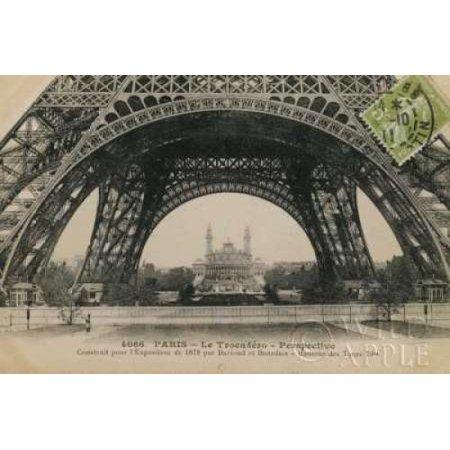 Le Base de la Tour Eiffel Poster Print by  Wild Apple Portfolio