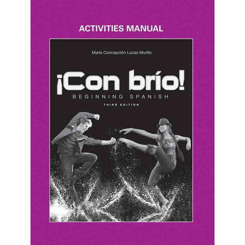 Con brio! Beginning Spanish Activities Manual