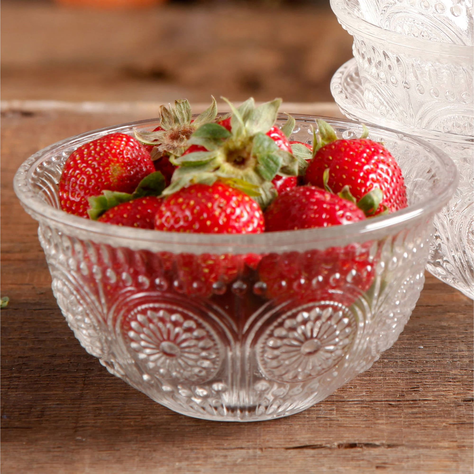 The Pioneer Woman Adeline Glass Bowl Clear