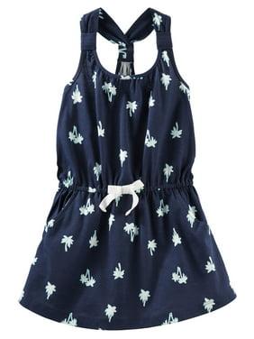 ee1843a08cb7 Product Image OshKosh B gosh Girl s Dress Palm Tree Navy Blue