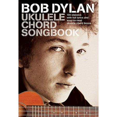 Bob Dylan - Ukulele Chord Songbook (Paperback)
