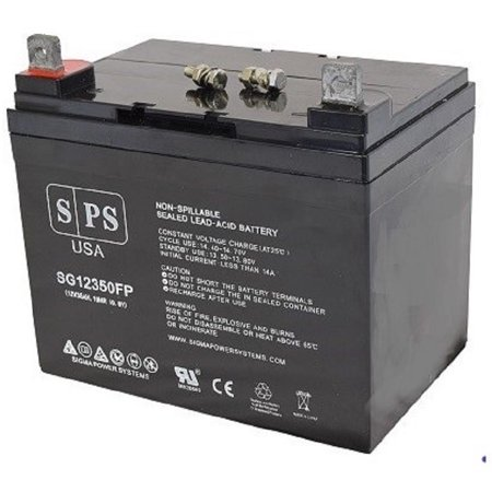 SPS Brand 12V 35Ah Replacement battery for Everest Jennings Pacer Alpha United Wheelchair