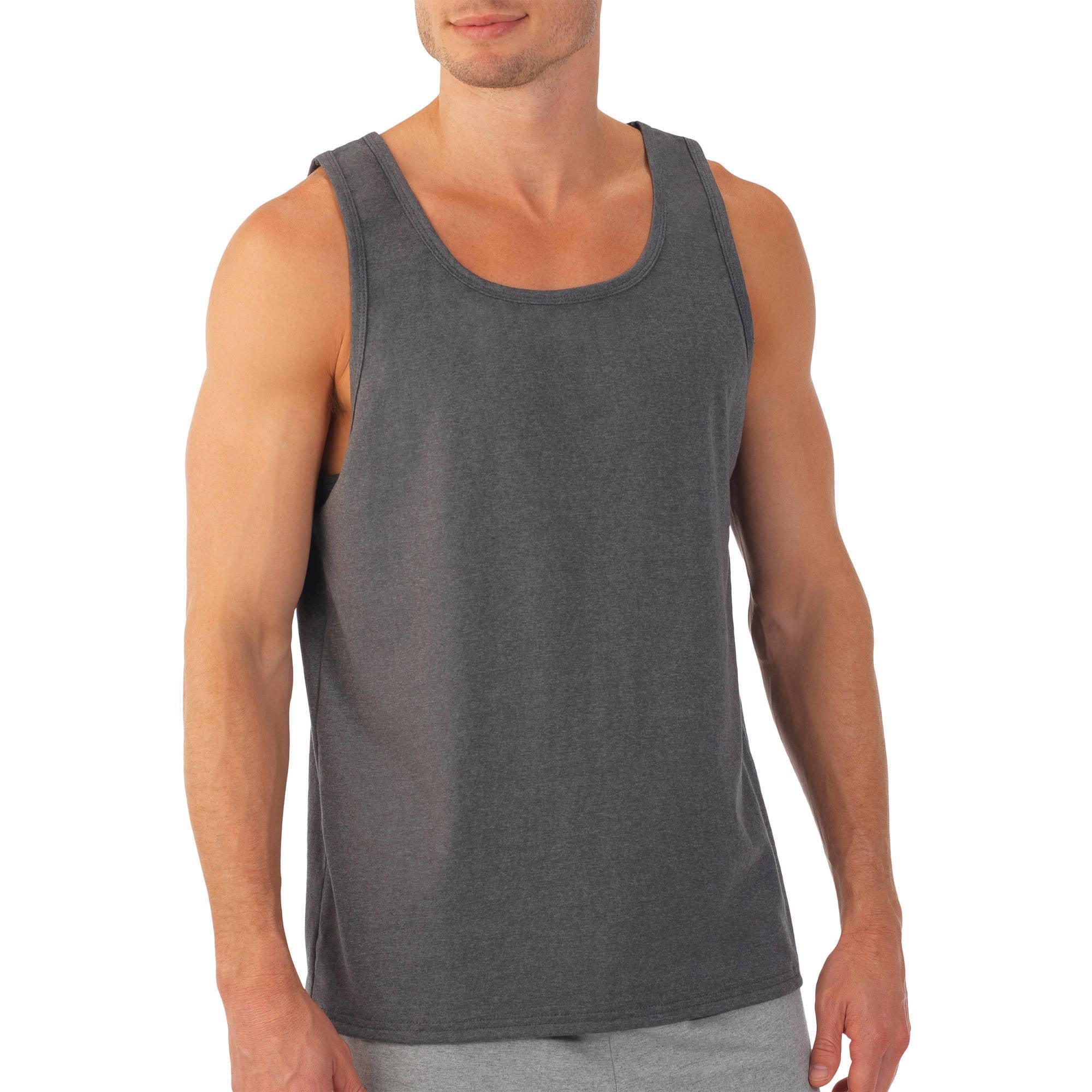 Quints Shark Fishing Mens Printed Vest Sports Tank-Top Shirts Leisure Sleeveless Shirt