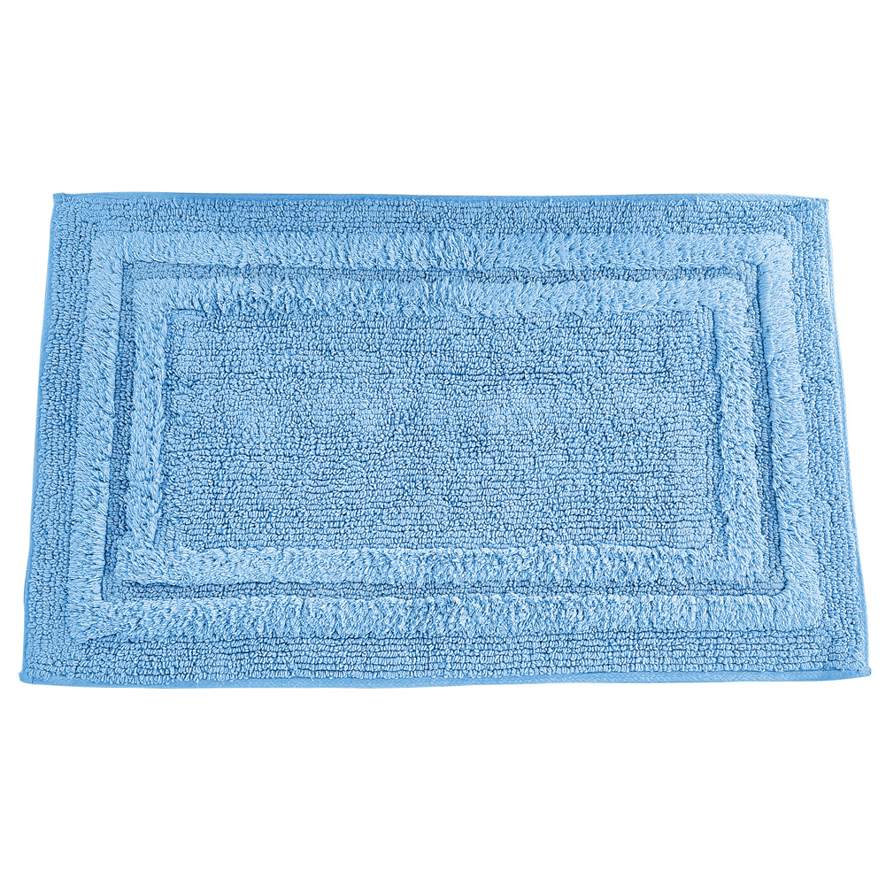 "Espalma Deluxe Tufted Cotton Bath Rug Machine Washable 20/"" L x 32/"" W"