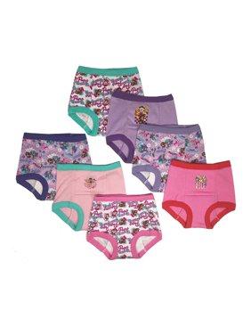 Paw Patrol Toddler Girls Training Pants, 7-Pack